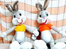 عروسک قشنگ خرگوش باگزبانی در شیپور