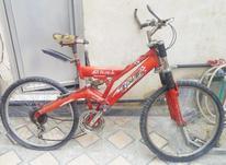 دوچرخه سایز 26 قرمز در شیپور-عکس کوچک