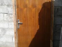 درب چوبی اتاق خواب با چهارچوب در شیپور
