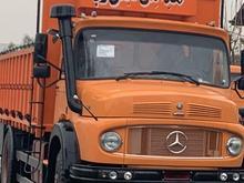 کامیون بنز تک باری صفر کیلومتر با اطاق بارمدل 99 در شیپور