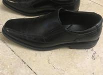 کفش چرم مشکی مردانه در شیپور-عکس کوچک