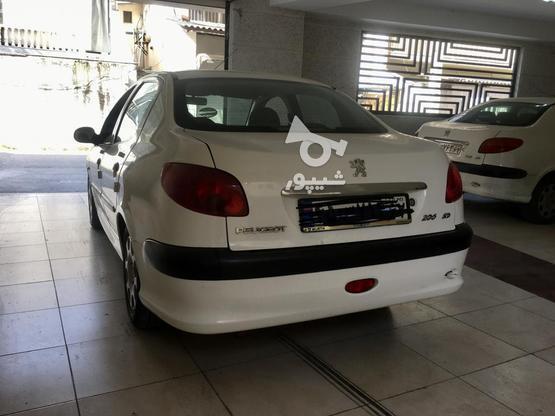 پژو اس دی 206 وی 8 در گروه خرید و فروش وسایل نقلیه در مازندران در شیپور-عکس4