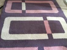 فرش فانتزی بنفش وصورتی در شیپور