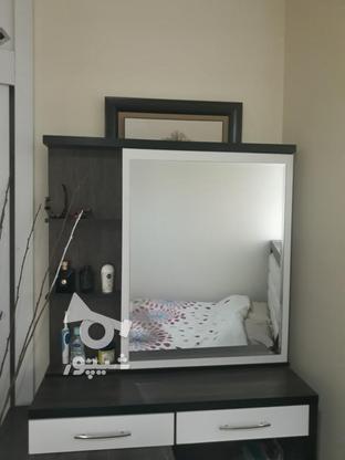 تخت خواب 2 نفره تمیز به همراه تشک در گروه خرید و فروش لوازم خانگی در تهران در شیپور-عکس2