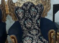 مبلمان سلطنتی 7نفره همراه با سه عدد میز عسلی  در شیپور-عکس کوچک