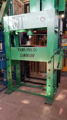 پرس هیدرولیک 50 و 60 تن دستی در گروه خرید و فروش صنعتی، اداری و تجاری در اصفهان در شیپور-عکس1