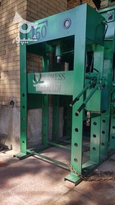 پرس هیدرولیک 50 و 60 تن دستی در گروه خرید و فروش صنعتی، اداری و تجاری در اصفهان در شیپور-عکس4