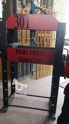 پرس هیدرولیک 50 و 60 تن دستی در گروه خرید و فروش صنعتی، اداری و تجاری در اصفهان در شیپور-عکس5