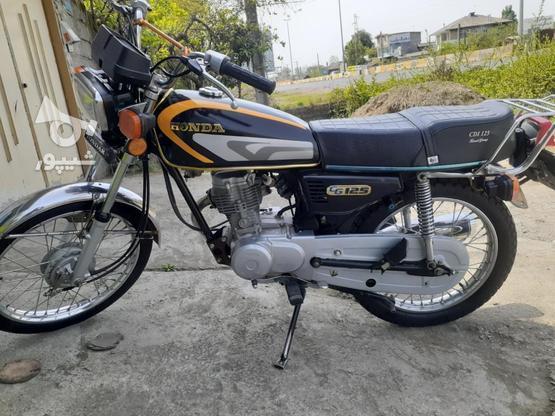 موتور سیکلت مدل 93 عروسک در گروه خرید و فروش وسایل نقلیه در گیلان در شیپور-عکس1