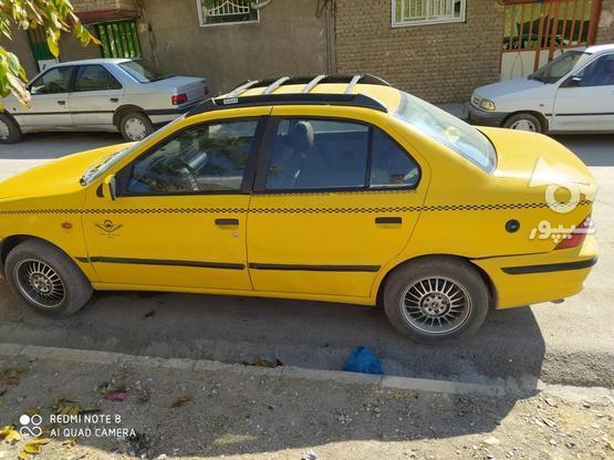 تاکسی سمند مدل 88دو گانه سوز   در گروه خرید و فروش وسایل نقلیه در همدان در شیپور-عکس1