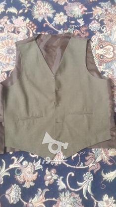 مارک کت شلوار  زر پوشان رنگ زیتونی بسیار شیک در گروه خرید و فروش لوازم شخصی در البرز در شیپور-عکس6