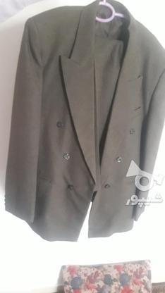 مارک کت شلوار  زر پوشان رنگ زیتونی بسیار شیک در گروه خرید و فروش لوازم شخصی در البرز در شیپور-عکس5
