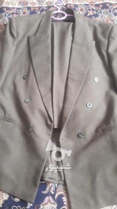 مارک کت شلوار  زر پوشان رنگ زیتونی بسیار شیک در گروه خرید و فروش لوازم شخصی در البرز در شیپور-عکس2