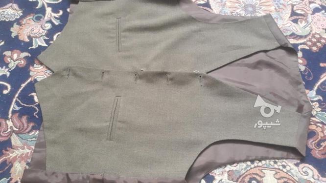 مارک کت شلوار  زر پوشان رنگ زیتونی بسیار شیک در گروه خرید و فروش لوازم شخصی در البرز در شیپور-عکس4