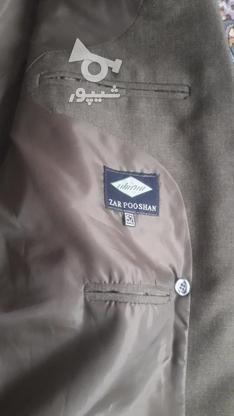 مارک کت شلوار  زر پوشان رنگ زیتونی بسیار شیک در گروه خرید و فروش لوازم شخصی در البرز در شیپور-عکس3