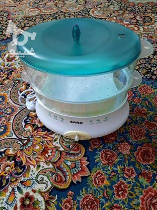 بخار پز SANA در گروه خرید و فروش لوازم خانگی در تهران در شیپور-عکس1