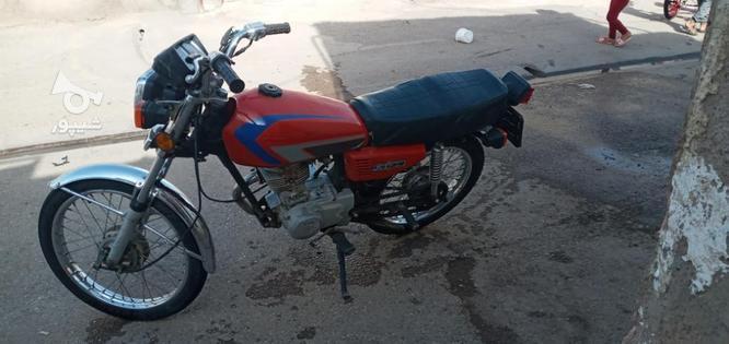 یک عدد موتور مزایده در گروه خرید و فروش وسایل نقلیه در قزوین در شیپور-عکس5