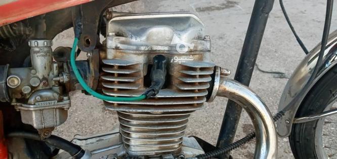 یک عدد موتور مزایده در گروه خرید و فروش وسایل نقلیه در قزوین در شیپور-عکس1