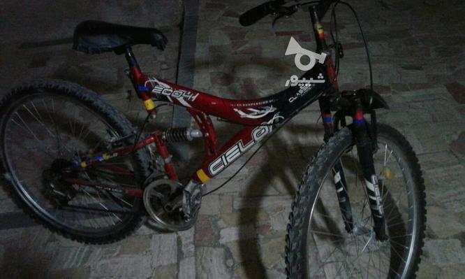 دوچرخه سایز26درحدنوجهت فروش در گروه خرید و فروش ورزش فرهنگ فراغت در مازندران در شیپور-عکس2