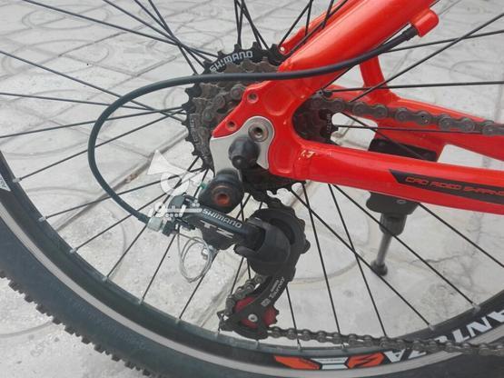 دوچرخه santoza 26..مهدی اباد..کتس بس در گروه خرید و فروش ورزش فرهنگ فراغت در فارس در شیپور-عکس6