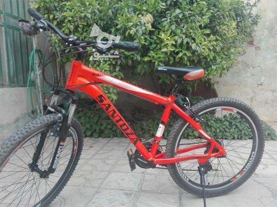 دوچرخه santoza 26..مهدی اباد..کتس بس در گروه خرید و فروش ورزش فرهنگ فراغت در فارس در شیپور-عکس1