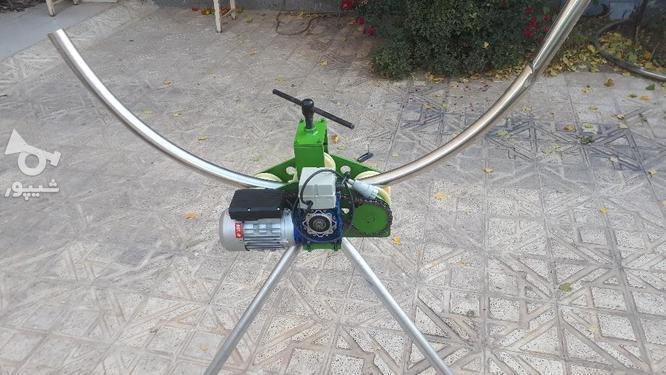 دستگاه خمکن (نورد) نرده استیل در گروه خرید و فروش صنعتی، اداری و تجاری در زنجان در شیپور-عکس3