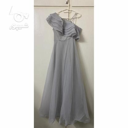 لباس حریر طوسی روشن سایز 36-38  در گروه خرید و فروش لوازم شخصی در تهران در شیپور-عکس1