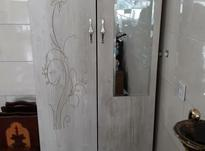 کمد ایستاده چوبی آینه دار بعلت تغییرشغل در شیپور-عکس کوچک