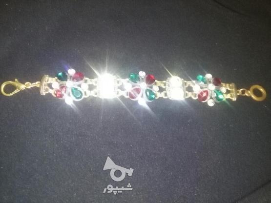 دستبند مجلسی زیبا در گروه خرید و فروش لوازم شخصی در لرستان در شیپور-عکس5