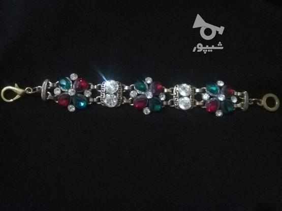 دستبند مجلسی زیبا در گروه خرید و فروش لوازم شخصی در لرستان در شیپور-عکس1