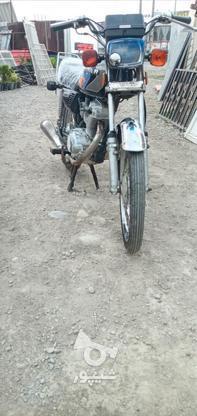 موتور هوندا سالم تمیز  در گروه خرید و فروش وسایل نقلیه در مازندران در شیپور-عکس4