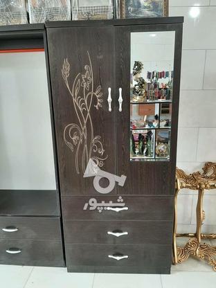 کمد دو درب چوبی ونگه بعلت تغییرشغل در گروه خرید و فروش لوازم خانگی در گیلان در شیپور-عکس1