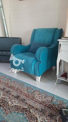 مبل 7نفره ترکبیب دورنگ در گروه خرید و فروش لوازم خانگی در البرز در شیپور-عکس3