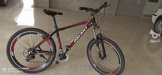 دوچرخه در حد نو  در گروه خرید و فروش ورزش فرهنگ فراغت در آذربایجان غربی در شیپور-عکس1