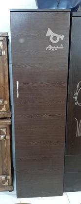 کمد ایستاده چوبی تک درب بعلت تغییرشغل در گروه خرید و فروش لوازم خانگی در گیلان در شیپور-عکس1