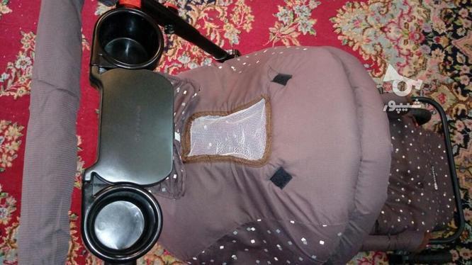کالسکه خیلی تمیز و کاملا سالم در گروه خرید و فروش لوازم شخصی در کرمان در شیپور-عکس8