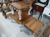 میز جلو مبلی چوبی مربع بعلت تغییرشغل در شیپور-عکس کوچک