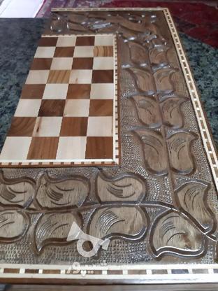 فروش تخته شطرنج در گروه خرید و فروش ورزش فرهنگ فراغت در آذربایجان غربی در شیپور-عکس3