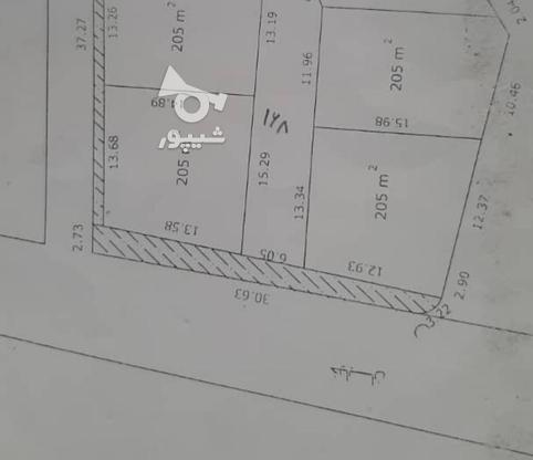 زمین 233 متر داخل بافت با سند نور عباسا در گروه خرید و فروش املاک در مازندران در شیپور-عکس1