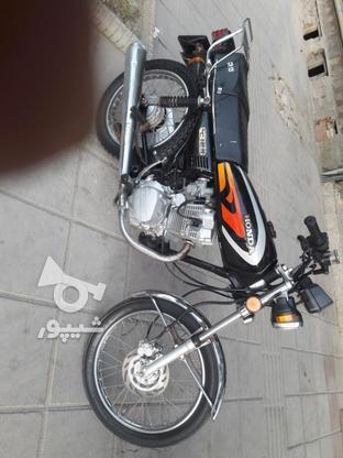 یک دستگاه موتورسیکلت در گروه خرید و فروش وسایل نقلیه در مازندران در شیپور-عکس1