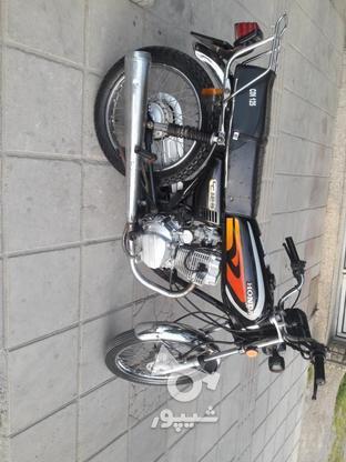 یک دستگاه موتورسیکلت در گروه خرید و فروش وسایل نقلیه در مازندران در شیپور-عکس8
