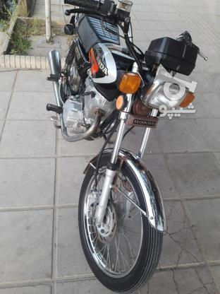 یک دستگاه موتورسیکلت در گروه خرید و فروش وسایل نقلیه در مازندران در شیپور-عکس7