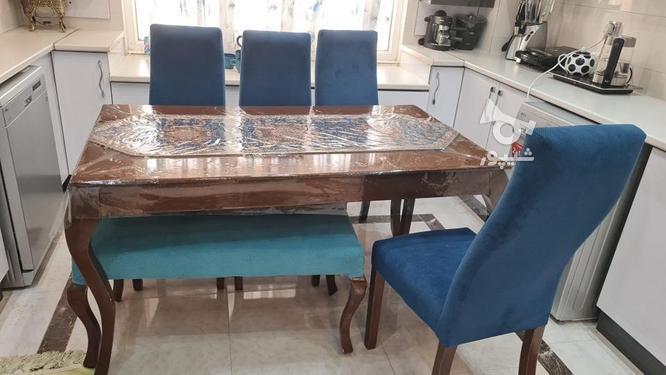 میز ناهارخوری چوبی6نفره در گروه خرید و فروش لوازم خانگی در سیستان و بلوچستان در شیپور-عکس2