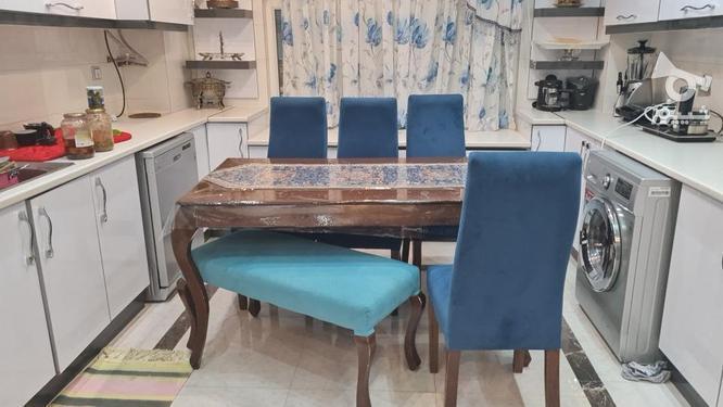 میز ناهارخوری چوبی6نفره در گروه خرید و فروش لوازم خانگی در سیستان و بلوچستان در شیپور-عکس1