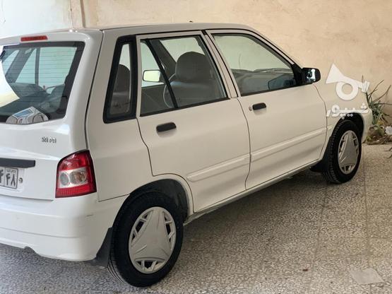 فروش پراید 111SE سفید رنگ مدل 1395 در گروه خرید و فروش وسایل نقلیه در بوشهر در شیپور-عکس1