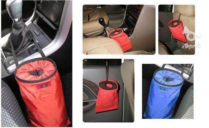 سطل زباله و آشغال مخصوص خودرو قابل نصب در همه خودرو ها  استف در گروه خرید و فروش وسایل نقلیه در اردبیل در شیپور-عکس4