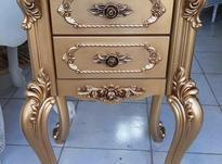 میز دو کشو چوبی سلطنتی بعلت تغییرشغل در شیپور-عکس کوچک