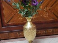 گلدان برنجی قدیمی در شیپور-عکس کوچک