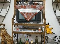 ویترین فرفورژه باحکاکی برجسته هخامنشی سه تیکه در شیپور-عکس کوچک