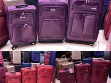 چمدان 3 تکه 4 چرخ تاپ استار(کیف ساک چمدان کساء) در شیپور